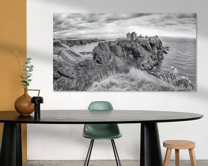 Sfeerimpressie: Donnottar Castle, Stonehaven, Schotland van Jan Enthoven Fotografie