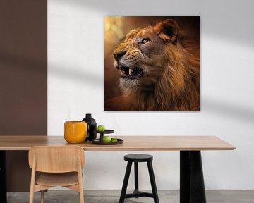 De kracht van een leeuw van Bert Hooijer