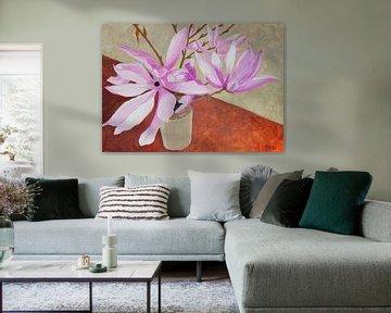 Magnolia van Antonie van Gelder Beeldend kunstenaar