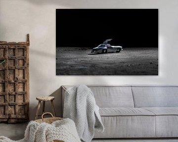 Mercedes sur la Lune sur Jaimy van Asperen