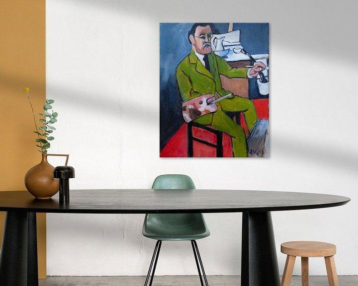 Beispiel: Henri Matisse von Antonie van Gelder Beeldend kunstenaar