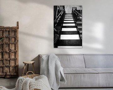 Treppe bei Strijp-S Eindhoven von Klaartje Majoor