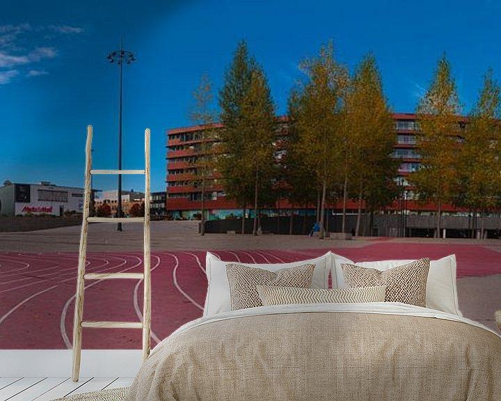 Sfeerimpressie behang: Almere Esplanada van Brian Morgan