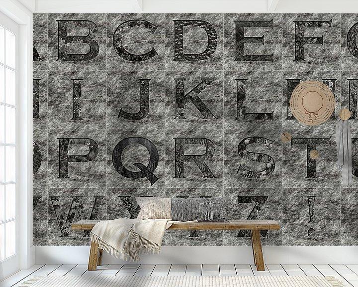 Impression: Alphabet No.10 sur Leopold Brix