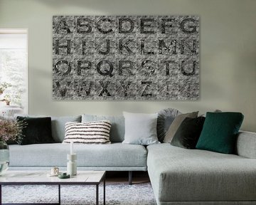 Alfabet nr.10 van Leopold Brix