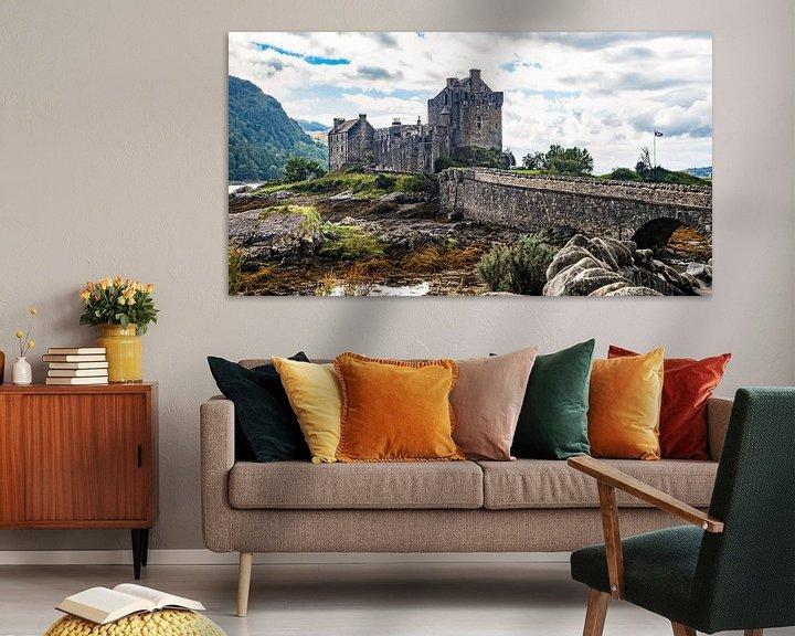 Sfeerimpressie: Eilean Donan Castle van Jan Enthoven Fotografie