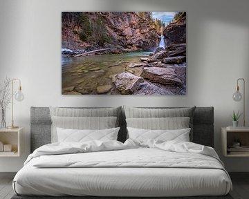 Buchenegg watervallen van Einhorn Fotografie
