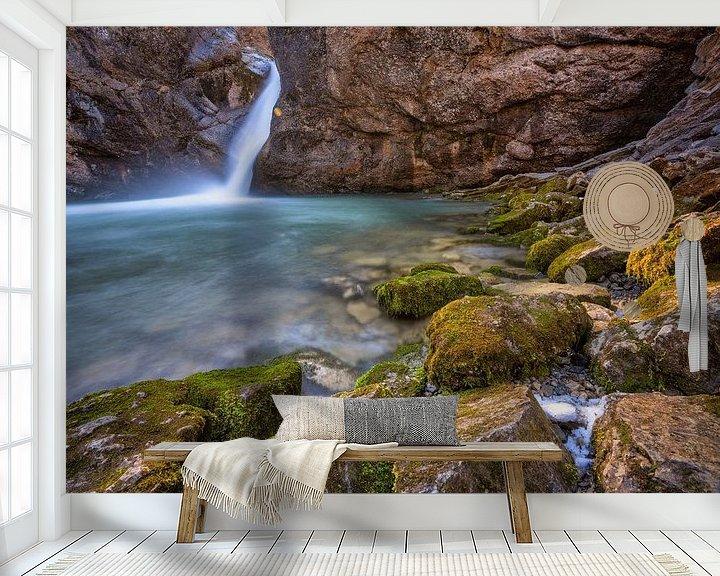 Beispiel fototapete: Buchenegger Wasserfall von Einhorn Fotografie