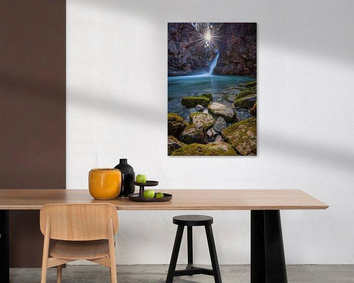 Beispiel: Buchenegger Wasserfall von Einhorn Fotografie