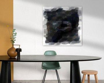 Abstrakt in Grau von Maurice Dawson