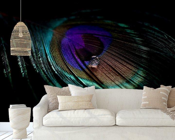 Impression: A travers l'œil d'une plume de paon sur Marieke Tegenbosch