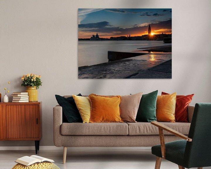 Beispiel: Sonnenuntergang in Venedig von Andreas Müller