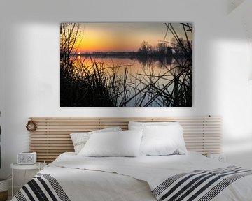 erste Sonne über dem See von Bart Nikkels