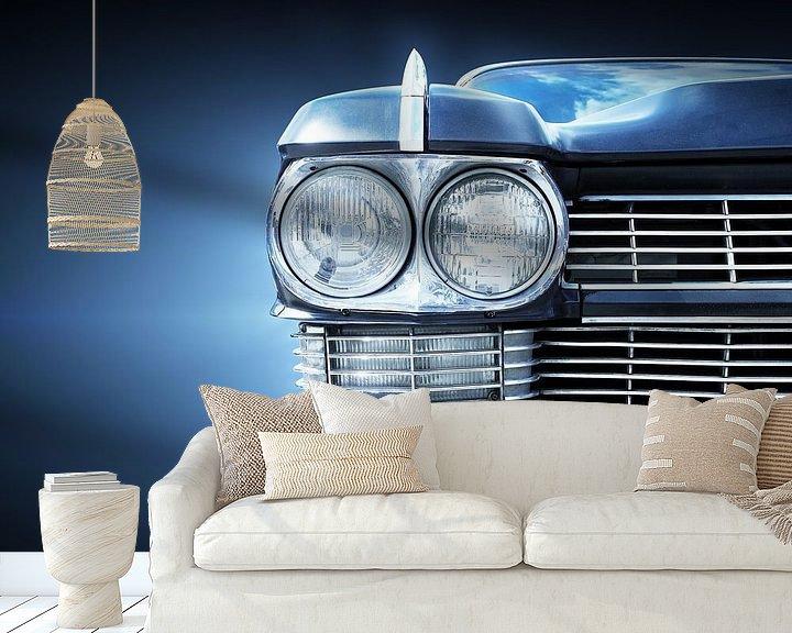 Sfeerimpressie behang: Amerikaanse oldtimer 1963 Sedan Deville van Beate Gube