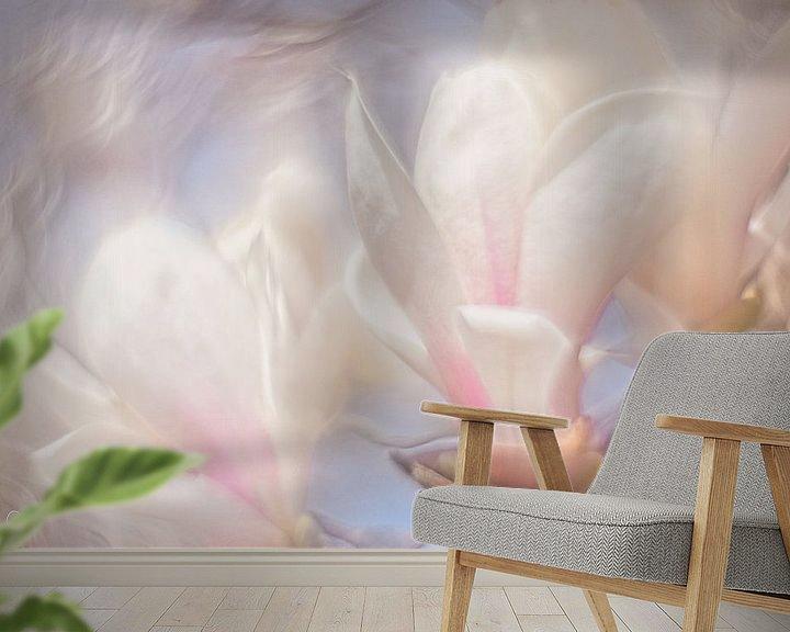 Sfeerimpressie behang: Magnolia van Dion de Bakker