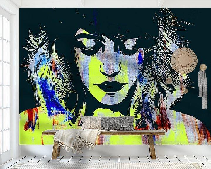 Sfeerimpressie behang: Emoties - Mixed media van The Art Kroep