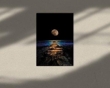 Weg zum Mond von CluitZicht | Pepijn Cluitmans