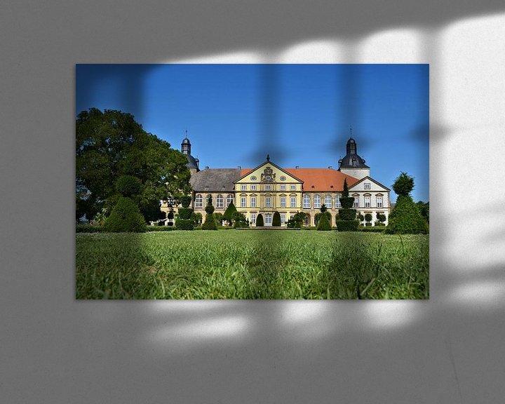 Sfeerimpressie: Het kasteel Hundisburg bij Haldensleben van Heiko Kueverling
