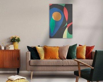 Een sinaasappel! van dcosmos art