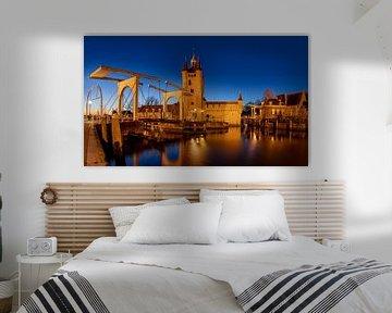 Zierikzee bij Avond, Nederland van Adelheid Smitt