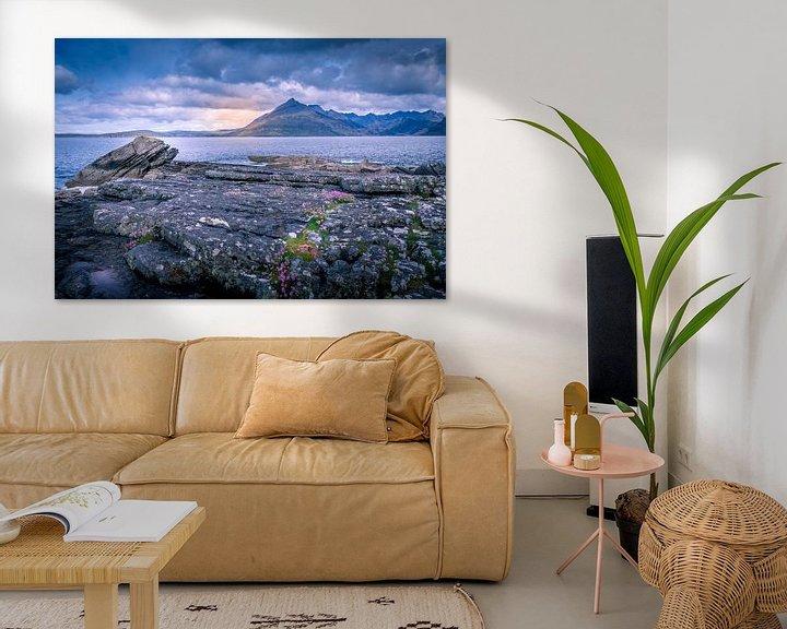 Sfeerimpressie: Elgol beach van Wim van D