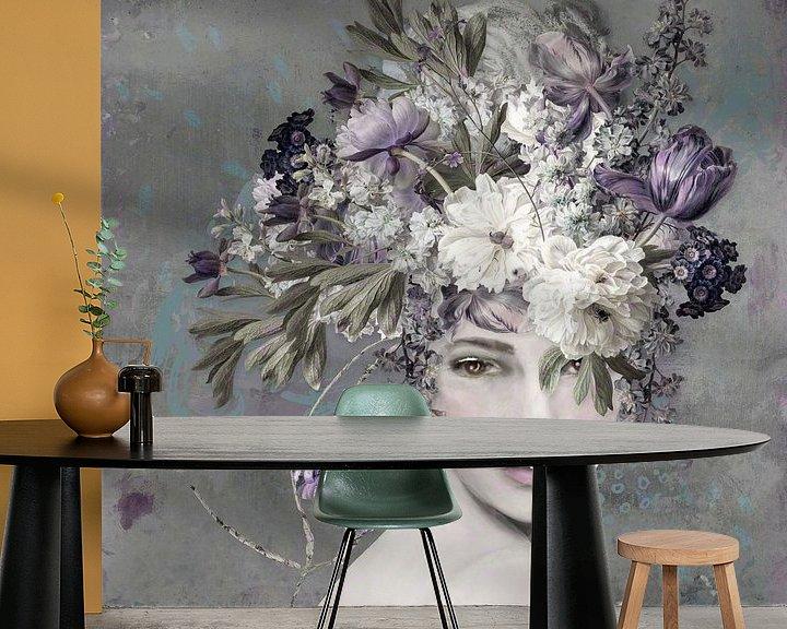 Sfeerimpressie behang: Be Always Blooming van Studio Papilio