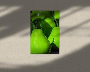 Groene Peren van Rob Boon