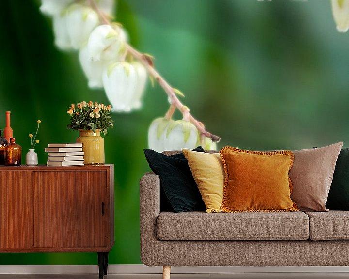 Sfeerimpressie behang: voorjaarsbloemen en groene natuur | fine art bloemenkunst van Karijn | Fine art Natuur en Reis Fotografie