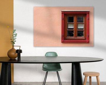 Fenster an einem Wohnhaus in Quedlinburg von Heiko Kueverling