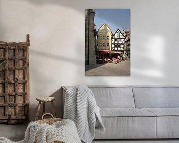 Fachwerkhäuser in der Welterbestadt Quedlinburg von Heiko Kueverling