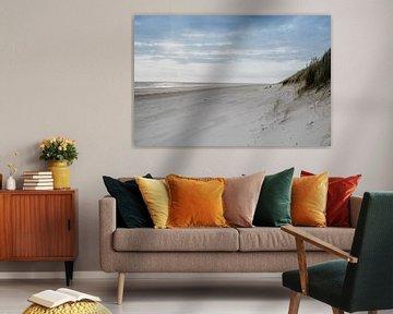 Tot rust komen op het strand op Ameland van Anouk Strijbos