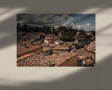 Daken van Toscaanse stadjes | Reisfotograafie Italië van Anouk Strijbos