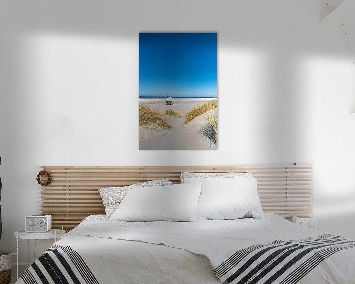 Sfeerimpressie: Tropische dag op het strand van Terschelling van Marjolein van Roosmalen