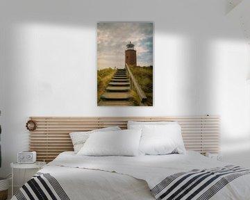 Red Cliff Vuurtoren van Sabine Wagner