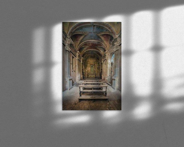 Beispiel: Verlassene Kapelle im Verfall von Frans Nijland