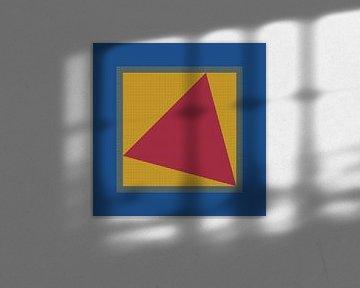 Dreieck im Quadrat 1 von Andree Jakobson