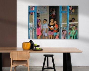 Waisenhaus in Myanmar von Phil Buckley