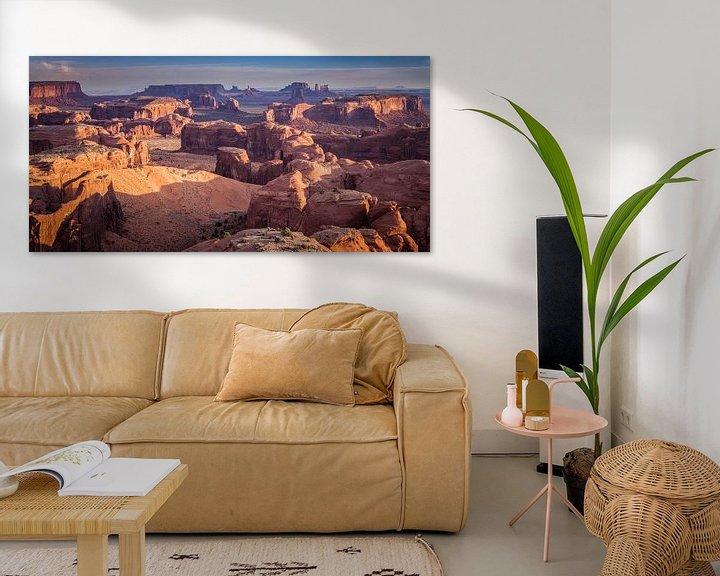 Beispiel: Panorama von Monument Valley von Henk Meijer Photography