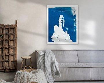 Umarmen Sie sich selbst (mit weißem Rand) von Remke Spijkers