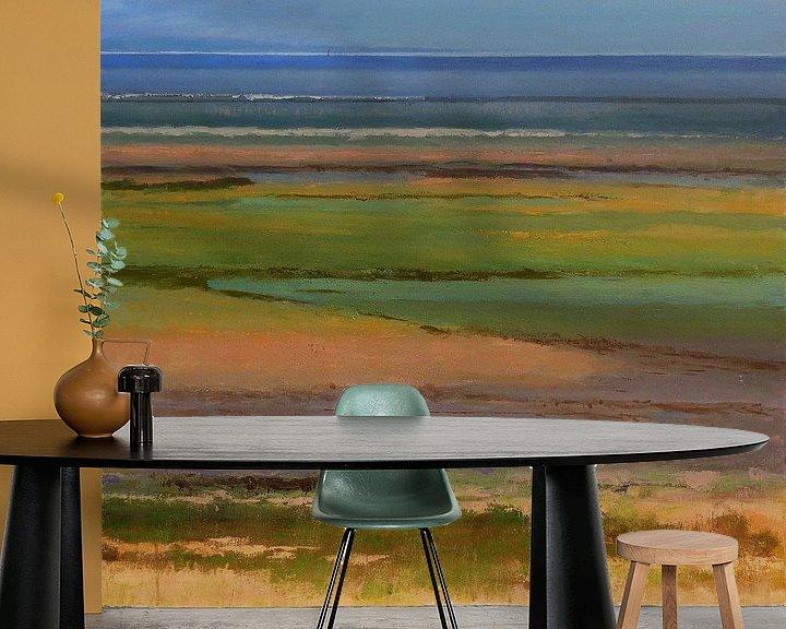 Sfeerimpressie behang: Uit de serie Planet Texel van Ger Veuger