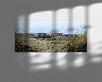 Huisjes Camperduin Noord-Holland van Jeroen van Esseveldt