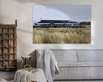 Strandpaviljoen STRUIN, Camperduin Noord-Holland van Jeroen van Esseveldt