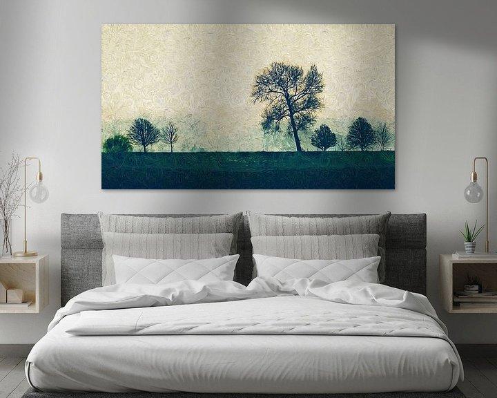 Beispiel: Impressionistische Landschaft von Arjen Roos