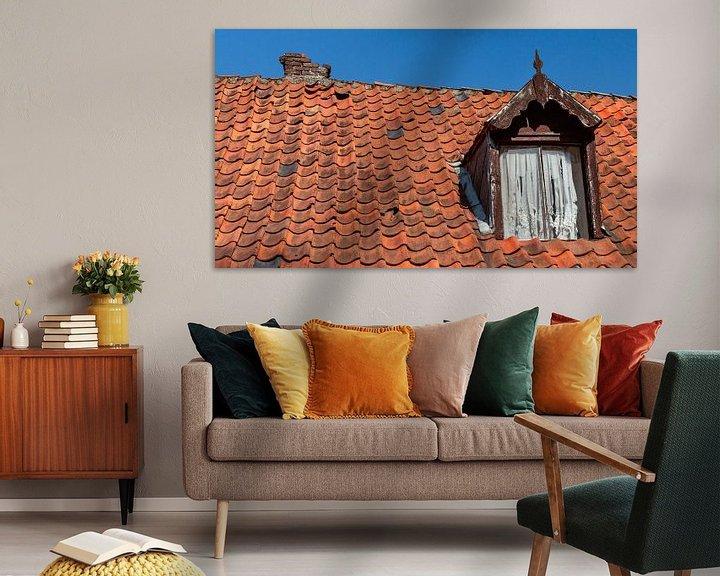 Beispiel: Dachziegel mit Gaube gefallen von Corrie Ruijer