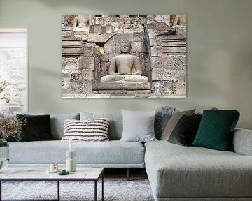 Buddha Borobudur von Eduard Lamping