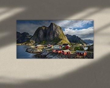 Fischerhütten in Reine I von Rainer Mirau