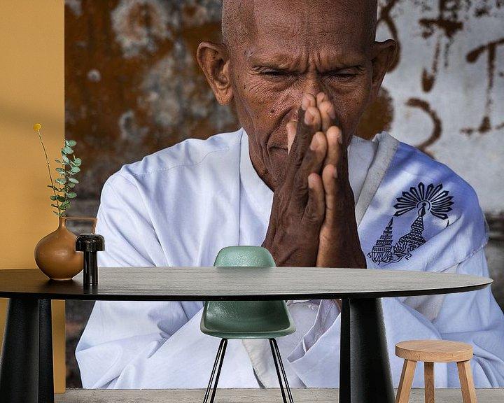 Sfeerimpressie behang: Cambodja van eric piel