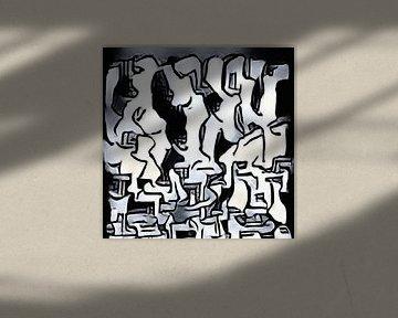 Abstrakte Inspiration LXXXIV von Maurice Dawson