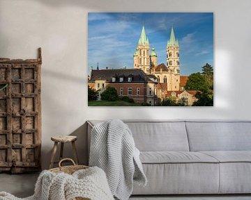 Naumburg kathedraal in Thüringen van Animaflora PicsStock