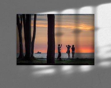 Abendstimmung am Meer von Jürgen Schmittdiel Photography